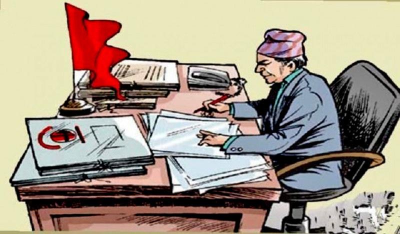 स्थानीय तहमा कर्मचारी अभाव