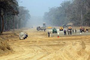 काठमाडौँ–मधेस द्रुतमार्गमा अप्टिकल फाइबर