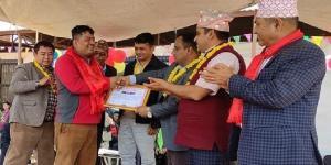 पत्रकारद्वय पौडेल र नेपाल सम्मानित