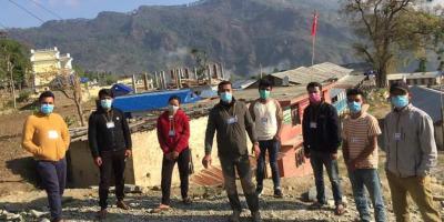 चौंरीदेउरालीका युवाहरुले निर्माण गरे 'एन्टी कोभिड भोलेन्टीयर टीम'