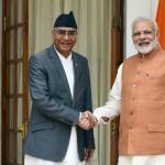 विश्वासको मत पाएलगत्तै प्रधानमन्त्री देउवालाई भारतीय प्रधानमन्त्री मोदीले दिए बधाई