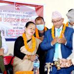 नमोबुद्ध-२ मा सुविधासम्पन्न वडा कार्यालय र स्वास्थ्य केन्द्र उद्घाटन