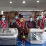 बनेपाको आँखा अस्पताललाई उपकरण सहयोग
