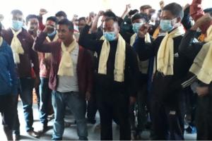 मण्डनदेउपुरमा नेकपा (एकीकृत समाजवादी) पार्टीतर्फ युवाहरुको आकर्षण बढ्दै