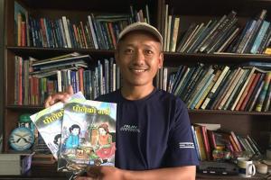 श्रीराम राईको बालकथा संग्रह 'पोलेको मकै' सार्वजनिक