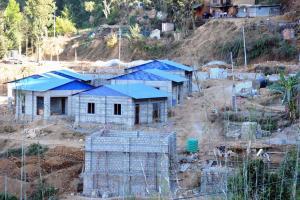 बजेट निकाशा नहुँदा काभ्रेका दुई नमूना बस्ती निर्माणमा ढिलासुस्ती